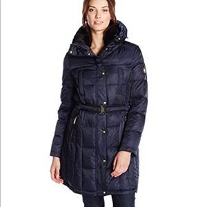 Vince Camuto many blue down coat